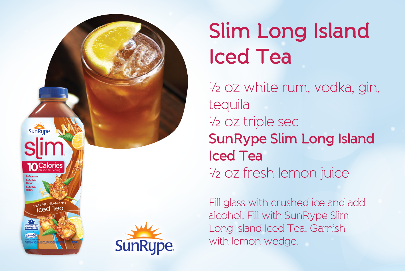 Slim Long Island Iced Tea