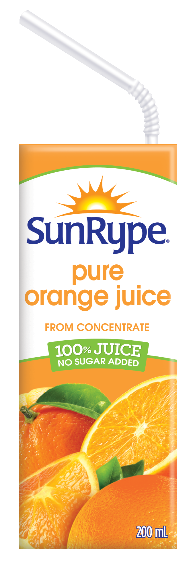 pure orange juice