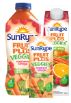Fruit Plus Veggies Raspberry Orange